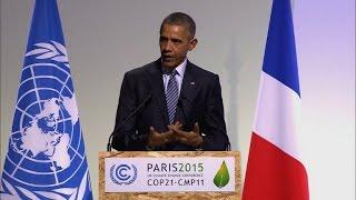 Obama: não há contradição entre crescimento e proteção ambiental