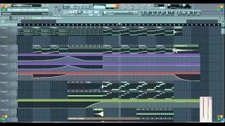 Nicky Romero ft Nervo- Like home (Fl studio remake)