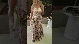 Vestido Longo Lança Perfume Verão 2018 - Descrição