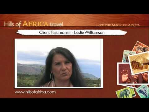 Soul Safari with Ainslie MacLeod: Testimonial by Leslie Williamson