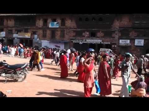 Festival in Bhaktapur, Nepal
