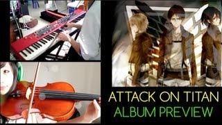 Shingeki no Kyojin Medley; OP: Guren no Yumiya (viola,piano) Sonum Armonia Album Preview!
