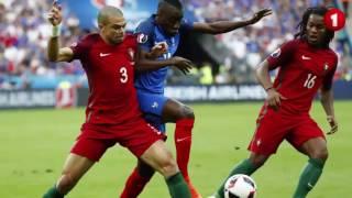 Filme da final euro 2016 com relato da Antena 1 (Portugal 1- Franca 0) - Melhores momentos