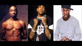 2 Pac Ft. 50 Cent & Lloyd Banks - Ambitionz Az a Ridah ( Remix 2013 )