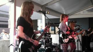 BLEACHED - Live @ SXSW (W Hotel) 2012.03.16