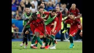 Portugal-França 1:0  Portugal é campeão da Europa!!! O Golo de Eder!
