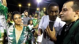 Recordar é Viver - Casal de Oficial - Sandra e Paulinho Camisa Verde e Branco 2017
