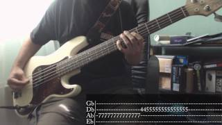 Rise Against - Prayer Of The Refugee [Bass Cover + Tab]