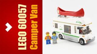 LEGO City 60057 Camper Van - Speed Build