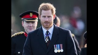 Prince Harry steps in for the Queen at Sandhurst