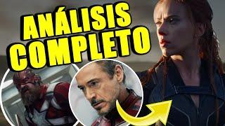 ¡LO QUE NO VISTE! El trailer de Black Widow revela grandes secretos y Easter Eggs | Análisis Trailer