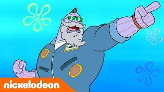 Bob Esponja | Academia del batido | Nickelodeon en Español