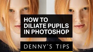 Dilate the Pupils for Better Portraits