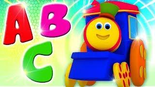 Bob The Train | Kindergarten Nursery Rhymes & Kids Songs | Cartoon Videos For Toddlers