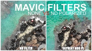 MAVIC AIR ND Polarized Filters - With & Without - What's The Difference?