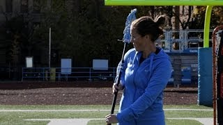 How to Do a Behind-the-Back Pass | Women's Lacrosse