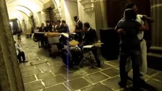 A Marimba Band, Central Park, Antigua, Guatemala