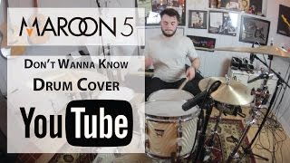 Maroon 5 - Don't Wanna Know ft. Kendrick Lamar - Drum Cover