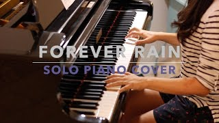 RM - 'forever rain' piano cover (악보/Sheet Music)