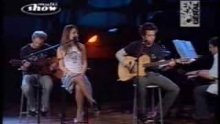 Sandy e Junior - Olha o Que o Amor Me Faz en vivo