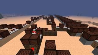 Minecraft Note Blocks: Astro Boy Theme