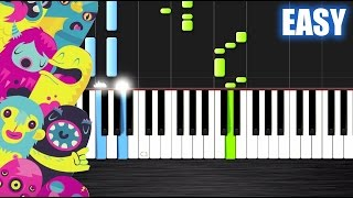 OMFG - Hello - EASY Piano Tutorial by PlutaX - Synthesia