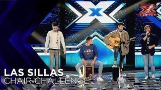 El arte de El Duende Callejero se lleva la última silla de Xavi Martínez   Sillas 2   Factor X 2018