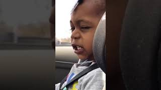 Baby singing and dancing to Lisa Stabsfield