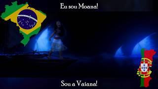 「I Am Moana (Moana's Part)」 - Portuguese Multilanguage