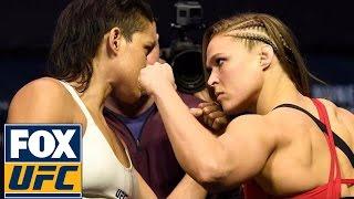 Ronda Rousey vs. Amanda Nunes | Weigh-In | UFC 207