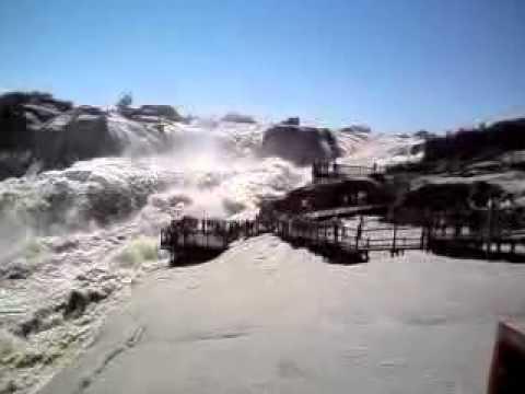 Augrabies falls in flood 2010