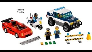 Lego City Set 60007 High Speed Chase Speed Build
