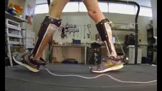 Unpowered exoskeleton for human walking