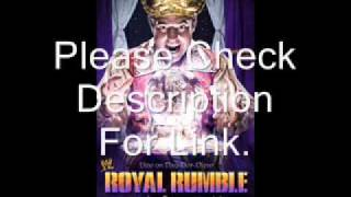 "WWE Royal Rumble  2012 Theme Song ""Dark Horses"" by ""Switchfoot"" Download Link"