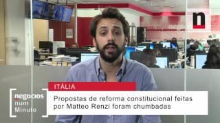 O que pode acontecer em Itália com a demissão de Renzi