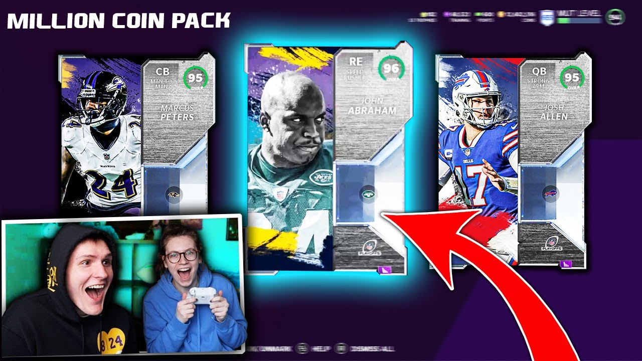 IT'S DOM - She did a 1 MILLION COIN Pack Opening... *INSANE PACKS* - Madden 21 Ultimate Team