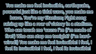 "Skillet - ""Feel Invincible"" lyrics"