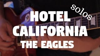 "The Eagles ""Hotel California"" (Os Maiores Solos) by Fabio Lima"