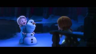 (FROZEN) - little elsa plays With anna
