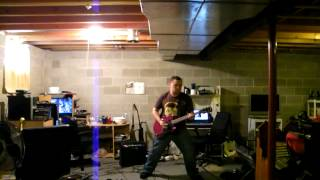 Nine Lashes- Adrenaline guitar cover