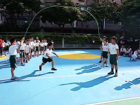 1070907八字跳繩比賽 - YouTube