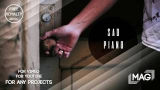 """""""Sad piano"""" Commercial Royalty Free Music For Videos, Presentations, Slideshow"""