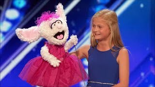 Darci Lynne is a great 12 year old Ventriloquist !