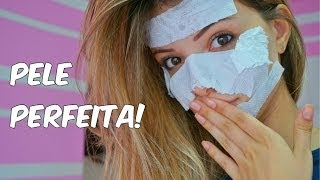 INCRÍVEL e melhor máscara facial caseira!! (contra rugas, cravos, poros abertos) ! Michelle Almendra