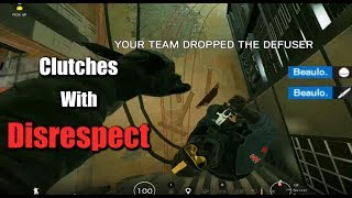 The Best Kind of Clutches - Rainbow Six Siege