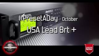 #PresetADay - USA Lead Brt + - AXE FX II / AX8 Rhythm and Solo Patches