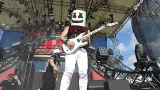 Marshmello - Alone (FYER Remix) LIVE at Imagine Fest