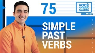 AULA DE INGLÊS 75 Simple Past (stayed, rented, practiced, invited, listened...)
