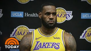LeBron James Under Fire For Comments On NBA-China Controversy | TODAY