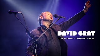 David Gray Live In Dubai Feb 25, 2016
